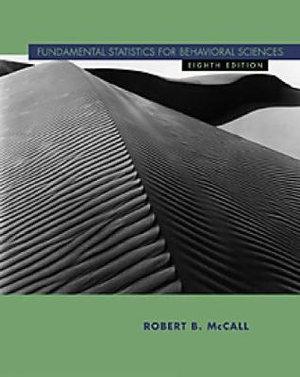 Cover of Fundamental Statistics for Behavioral Sciences