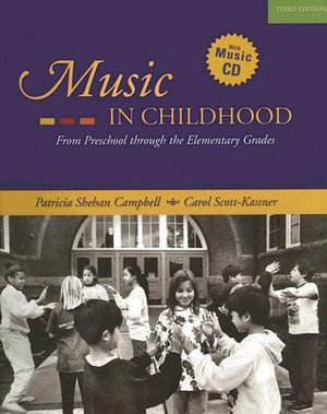 Cover of Music in Childhood
