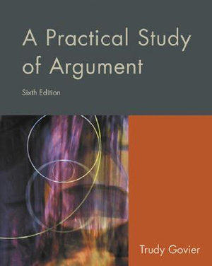 Cover of A Practical Study of Argument