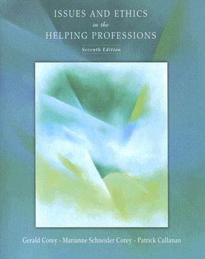 Cover of Issues and Ethics in the Helping Professions