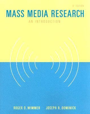 Cover of Mass Media Research