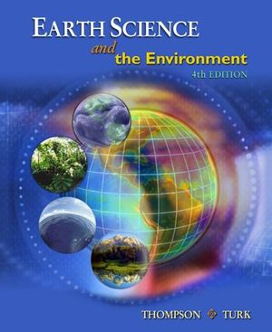 Cover of Earth Science and the Environment, Reprint (with CengageNOW Printed  Access Card)
