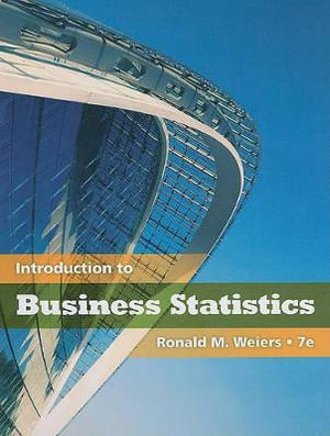 Cover of Introduction to Business Statistics (with Premium Web Site Printed  Access Card)