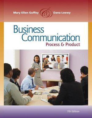 Cover of Business Communication: Process and Product