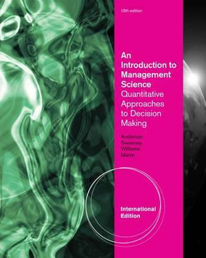Cover of An Introduction to Management Science