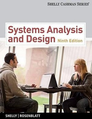 Cover of Systems Analysis and Design