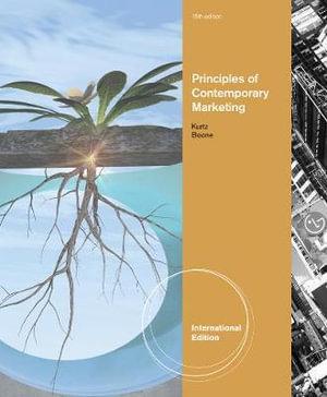 Cover of Principles of Contemporary Marketing