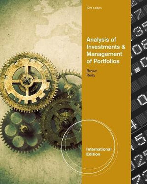 Cover of Analysis of Investments and Management of Portfolios