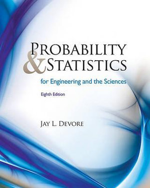 Cover of Probability and Statistics for Engineering and the Sciences