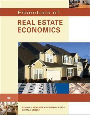 Cover of Essentials of Real Estate Economics.