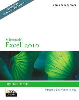 Cover of New Perspectives on Microsoft  Excel  2010 : Comprehensive