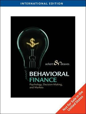 Cover of Behavioral Finance