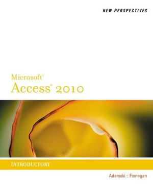 Cover of New Perspectives on Microsoft Access 2010, Introductory