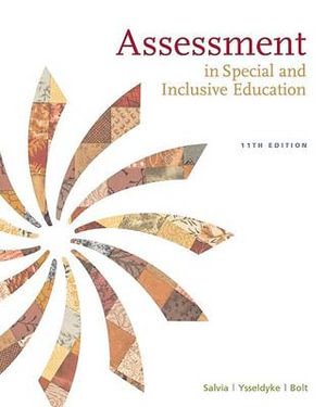Cover of Assessment: In Special and Inclusive Education