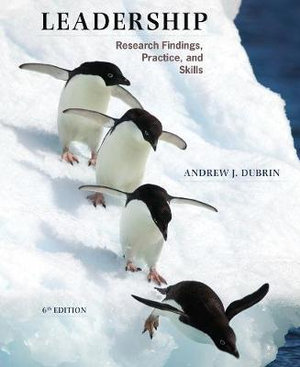 Cover of Leadership: Research Findings, Practice, and Skills