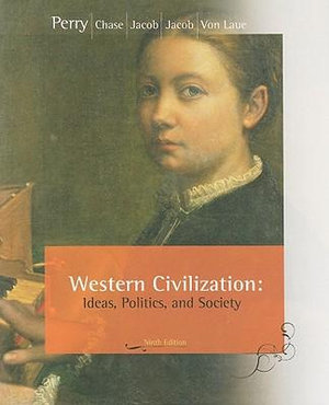 Cover of Western Civilization: Ideas, Politics, and Society, Comprehensive Edition
