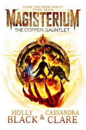 Cover of Magisterium 02: The Copper Gauntlet