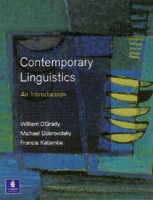 Cover of Contemporary linguistics