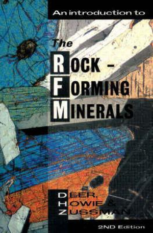 Cover of An introduction to the rock-forming minerals
