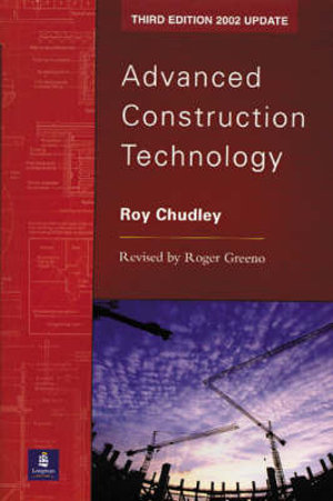 Cover of Advanced Construction Technology