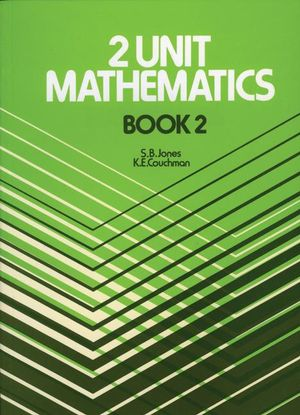 Cover of Two Unit Mathematics
