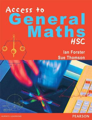 Cover of Access to General Maths : Hsc