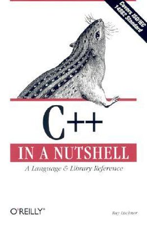 Cover of C++ in a nutshell