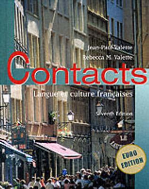 Cover of Contacts Euro Edition