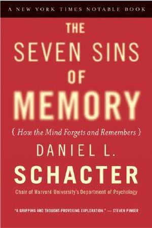 Cover of The Seven Sins of Memory