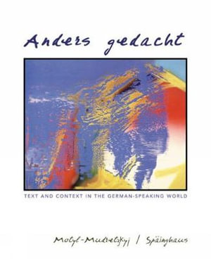 Cover of Anders Gedacht