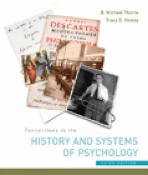 Cover of Connections in the History and Systems of Psychology