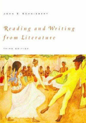 Cover of Reading And Writing From Literature
