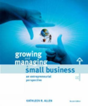 Cover of Growing and managing a small business