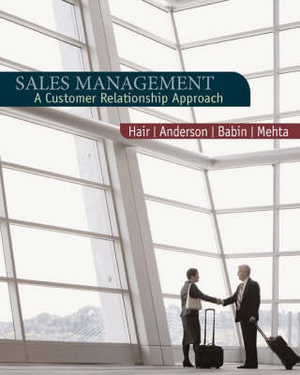 Cover of Sales Management : Building Customer Relationships and Partnerships