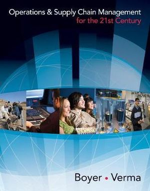 Cover of Operations and Supply Chain Management for the 21st Century (with  Printed Access Card)