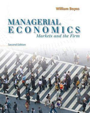 Cover of Managerial Economics : Markets and the Firm