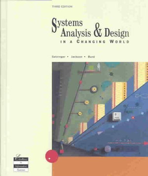 Cover of Systems Analysis & Design
