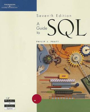Cover of A guide to SQL