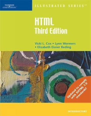 Cover of HTML Illustrated Introductory