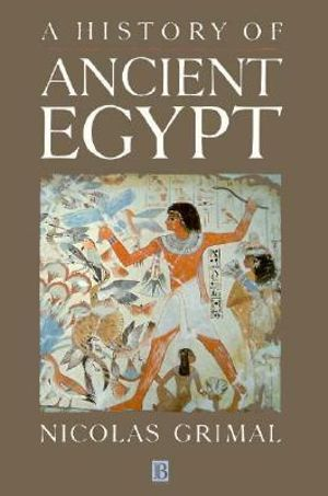 Cover of A History of Ancient Egypt