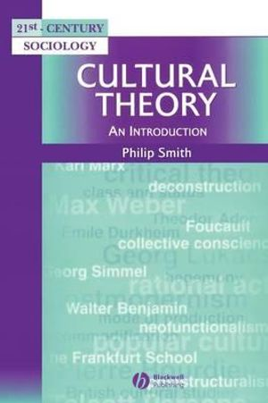Cover of Cultural Theory - an Introduction