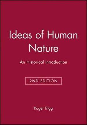 Cover of Ideas of Human Nature
