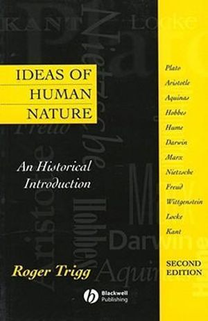 Cover of Ideas of Human Nature - an Historical Introduction2e