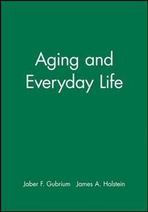 Cover of Aging and Everyday Life