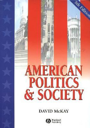 Cover of American Politics and Society
