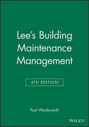 Cover of Lee's Building Maintenance Management