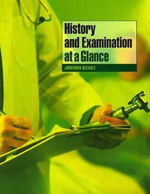 Cover of History and Examination at a Glance