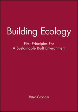 Cover of Building Ecology