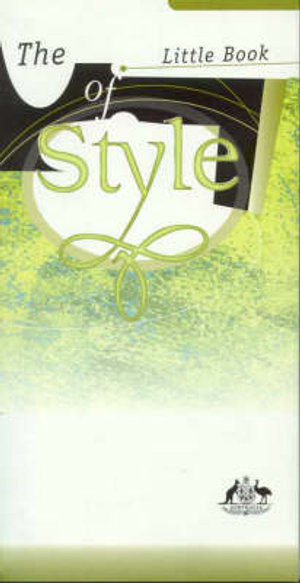 Cover of The Little Book of Style