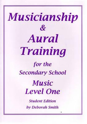 Cover of Musicianship & Aural Training for the Secondary School